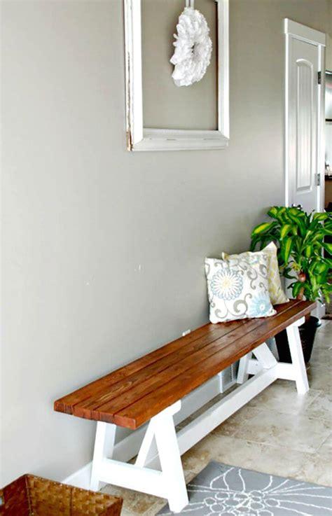 diy farmhouse benches hgtv 100 ultimate diy entryway ideas that you can diy easily diy crafts
