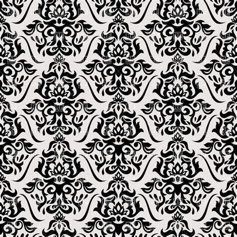 black and white retro wallpaper black and white seamless vintage wallpaper royalty free