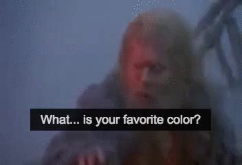 what is your favorite color monty python what is your favorite color talk tennis