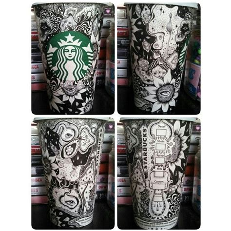doodle budz ideas by beverlysalas starbucks cup