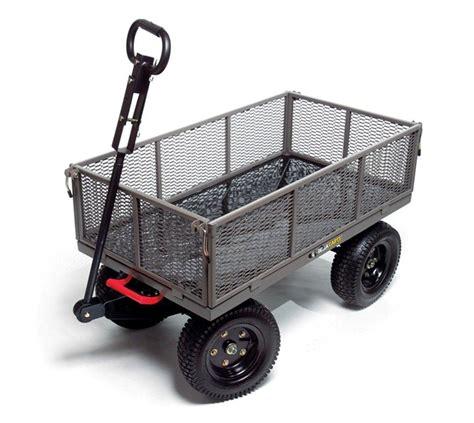 gorilla carts gormp 12 steel dump cart with