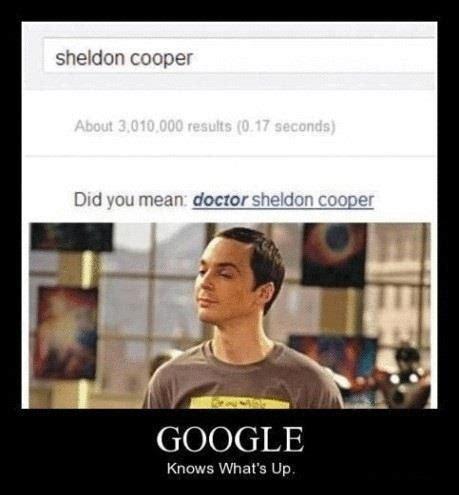 Is Google A Boy Or A Girl Meme - oh sheldon