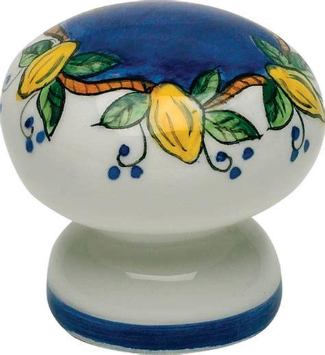 Italian Cabinet Knobs by Atlas Homewares 3160 18 1 3 4 Inch Tuscany Elba Lemon