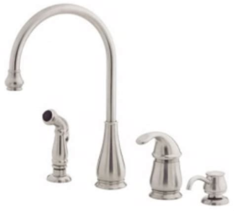 how to fix a price pfister kitchen faucet price pfister kitchen faucet parts guide