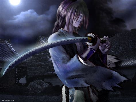 Tas Gadget Black Anime Jepang Sword best anime characters roronoa zorro vs kenshin himura who will win