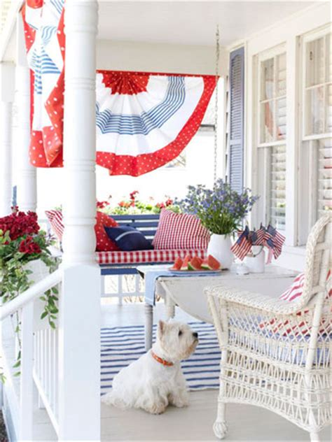Patriotic Decorations For Home Show Some Decor At Home With Heidi I M Lovin Patriotic Porches