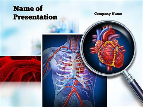 Cardiac Surgery Powerpoint Template Backgrounds 10850 Poweredtemplate Com Cardiac Powerpoint Template