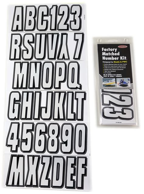 boat registration lettering size silver black boat lettering registration numbers 320