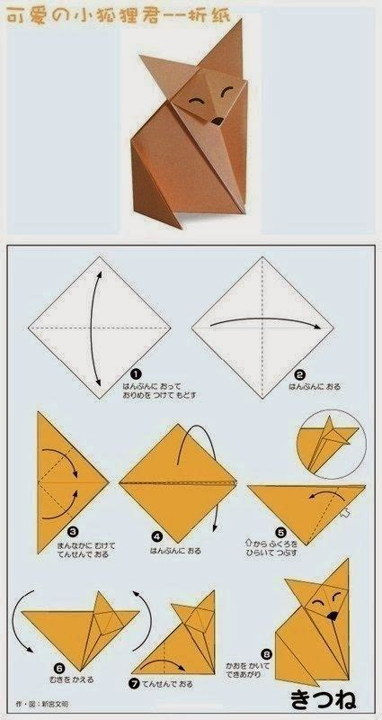 Origami Cat Tutorial - 25 best ideas about origami cat on origami