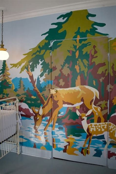 creative wall murals paint by number mural creative painting ideas interior painting ideas nursery 3