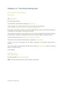 Free Written Warning Template by Best Photos Of Written Warning Template Employee Written