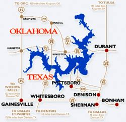 texoma map texoma