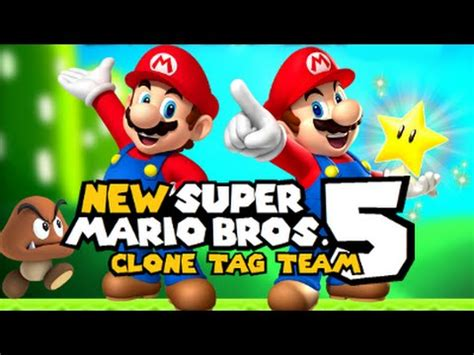 5 Of The Biggest Super Mario Controversies Youtube - nsmb5 clone tag team official trailer 6 hack youtube