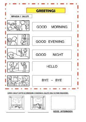 dispense di inglese pdf saluti trace pdf schede didattiche imparare inglese