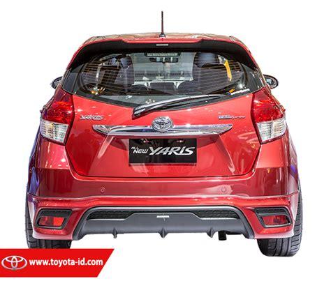 Lis Kaca Belakang All New Yaris 2015 perbedaan toyota all new yaris tipe e g dan trd sportivo