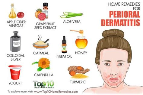 home remedies for perioral dermatitis bumps around