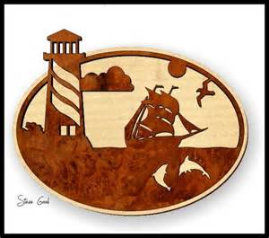 Scroll saw patterns to print scrollsaw workshop lighthouse scroll