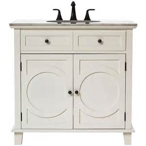 White Vanity Home Depot Home Decorators Collection Hudson 36 In Vanity In White