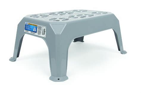 Small Plastic Step Stool by Camco 43460 Plastic Step Stool Small Gray Ebay