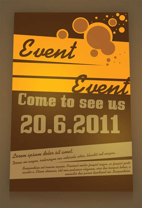 free flyer designs templates event flyer psd