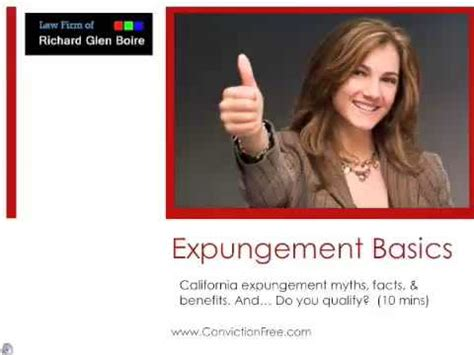 How To Get Criminal Record Expunged In How To Clear Your Criminal Record With An Expungement Doovi