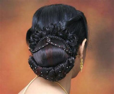Wedding Hair Big Bun by Indian Bridal Bun Hairstyles Indian Tips