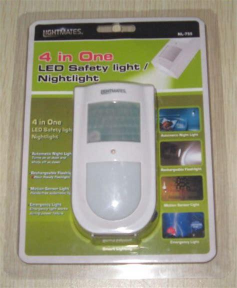 intertek safety night light sensor emergency nightlight from hab industries inc china