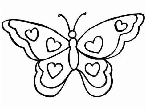 butterfly coloring pages dltk butterfly coloring pages 4061