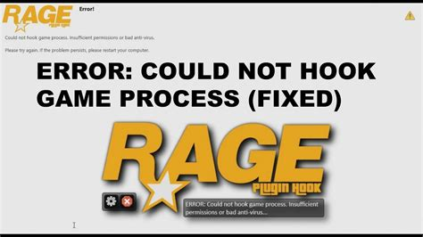 Hookups Or Not by Ragepluginhook Could Not Hook Process Fixed