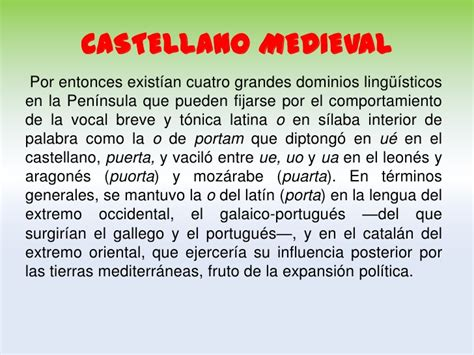 historia de la lengua historia de la lengua castellana