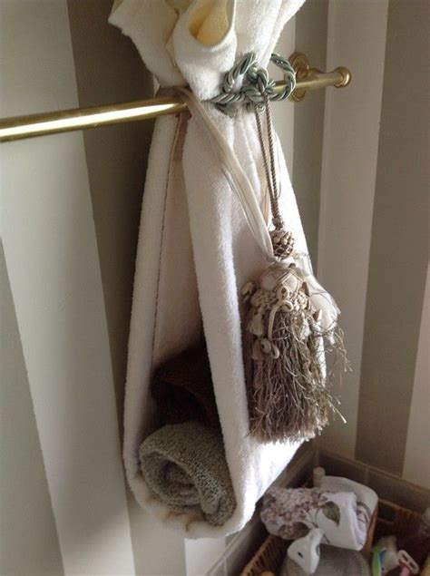 bathroom towel hanging ideas 96 best images about decorative towels on pinterest