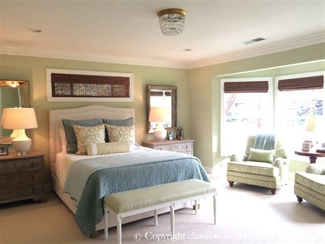 blue green bedroom classic casual home soft green blue master bedroom