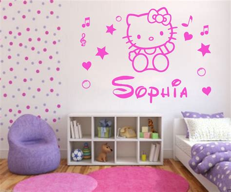 Wallpaper Dinding Wallpaper Stiker Deco 002 Bunga Pink Kuning sell wholesale personalised hello name decal wall sticker wall bedroom decor