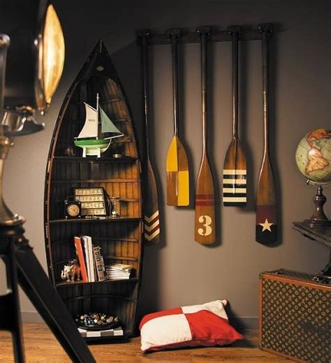 best 25 boat bookcase ideas on diy canoe