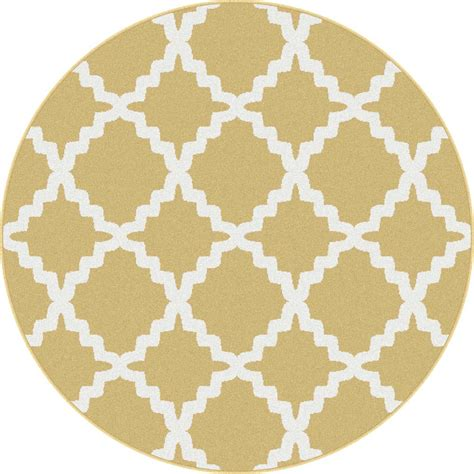 yellow pattern rug 5x5 metro yellow modern diamond patterned 1033 area rug
