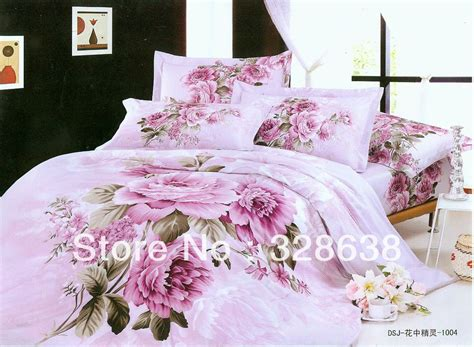 pink full comforter sets 3d bed covers pink bed linen hot comforter sets full king