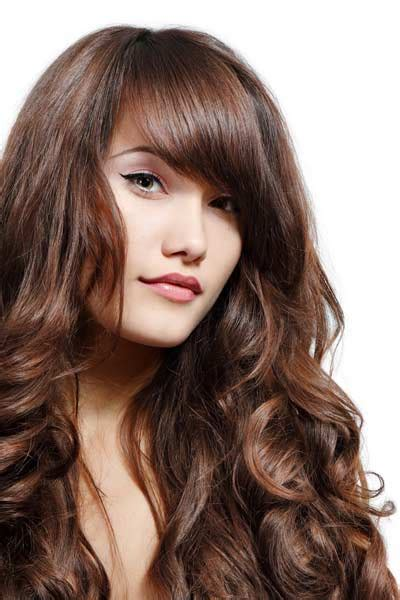 haircuts for thick curly hair 2012 hairstyles for wavy thick hair with bangs