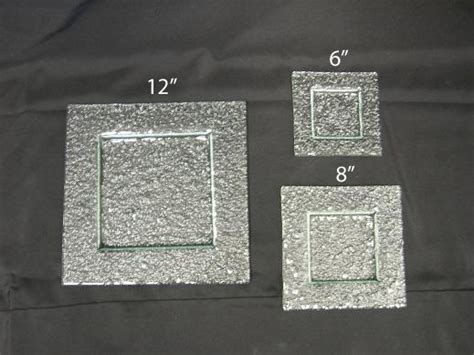 china green glass sq 8 inch plate rentals pa