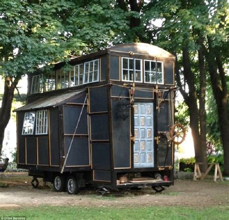 tiny houses 10000 resourceful built a cinematic tiny house for just