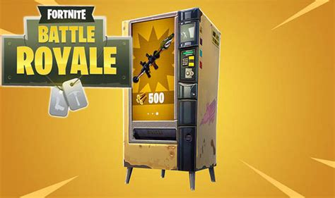 fortnite vending machine fortnite vending machines live new battle royale