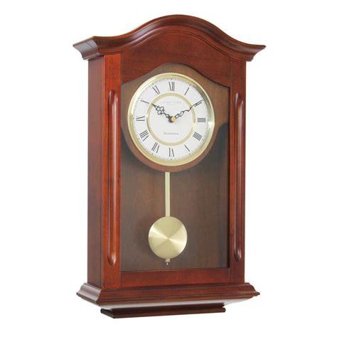 pendulum wall clock clocks traditional walnut pendulum wall clock westminster whittington chimes