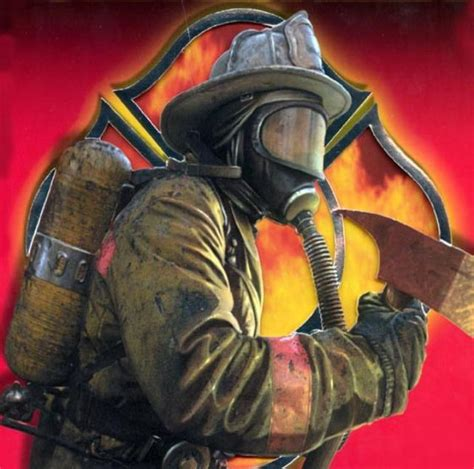 picture of a fireman firefighter bomb