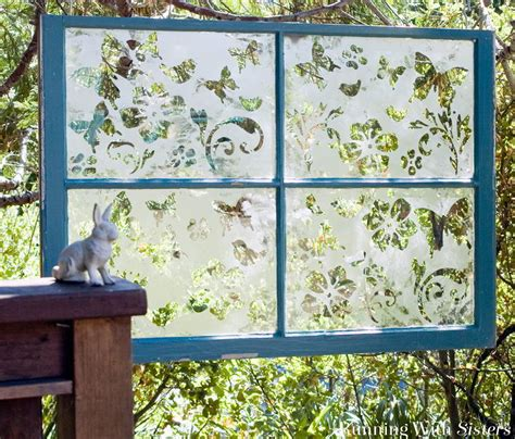 hometalk diy garden window   etch glass