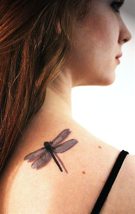 3d dragonfly tattoos 3d dragonfly temporary by tattoomint on etsy 4 99