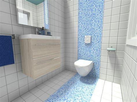 Kleines Bad Blaue Fliesen by Kleines Bad Fliesen 58 Praktische Ideen F 252 R Ihr Zuhause