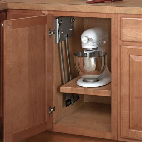 kitchen cabinet lift knape vogt appliance and kitchen mixer lift