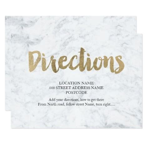 printable directions for invitations 17 best ideas about wedding direction cards on pinterest