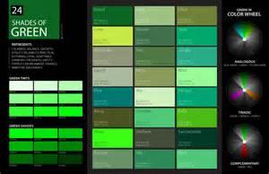 shaeds of 24 shades of green color palette graf1x com