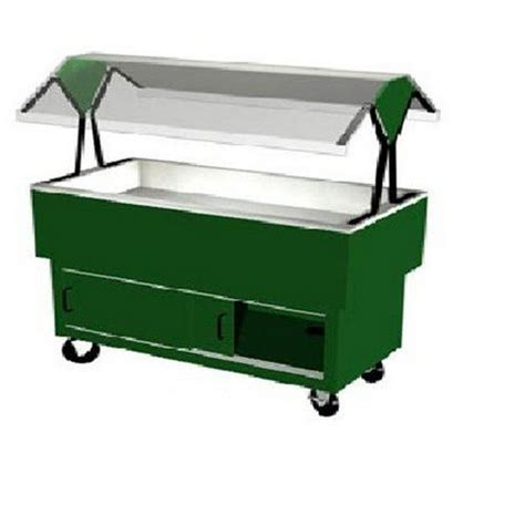 duke manufacturing buffet table cold food portable 4
