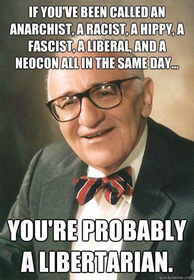 Anti Racist Memes - quot anti state rothbard quot quickmeme 187 libertarian pinterest